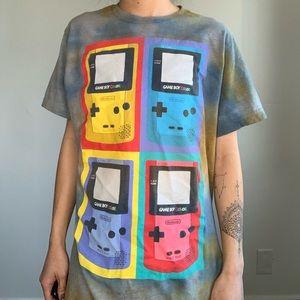 Vintage Tye Dye Gameboy T-shirt